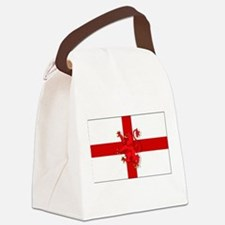 English Lion Flag Canvas Lunch Bag