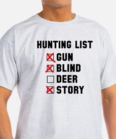 Hunting List T-Shirt