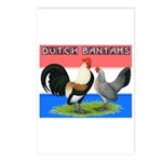 Dutch Bantams Postcards (Package of 8)
