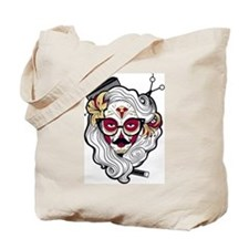 Hairdresser Sugar Skull Tote Bag
