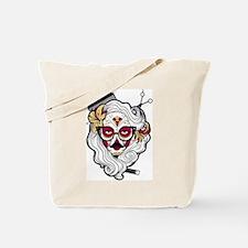 Hairdresser Sugar Skull Tote Bag
