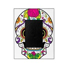 Curly Eyes Sugar Skull Picture Frame