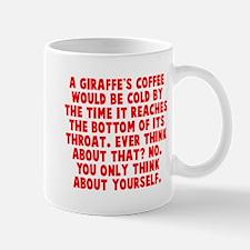 Giraffe coffee throat Mug