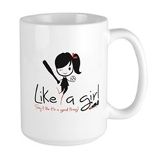 Hit Like a girl! Mug