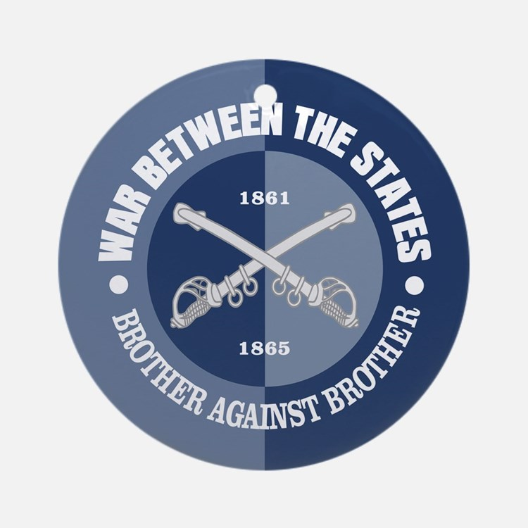 War Between The States Ornament (Round)