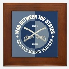 War Between The States Framed Tile