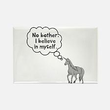 Unicorn I believe in myself Rectangle Magnet