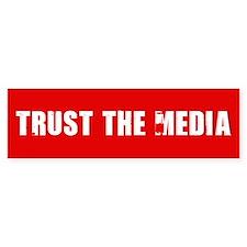 Trust the Media Bumper Bumper Sticker