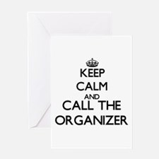 Keep calm and call the Organizer Greeting Cards