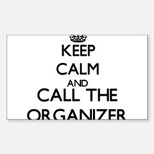 Keep calm and call the Organizer Decal