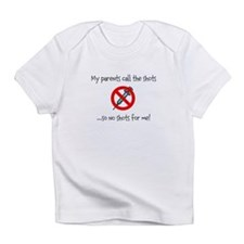 No shots for me! Infant T-Shirt