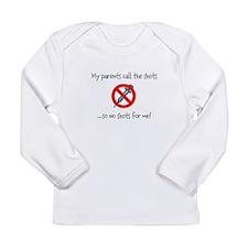 No shots for me! Long Sleeve T-Shirt