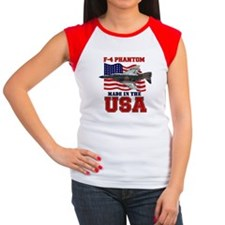 F-4 Phantom Women's Cap Sleeve T-Shirt