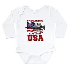 F-4 Phantom Long Sleeve Infant Bodysuit