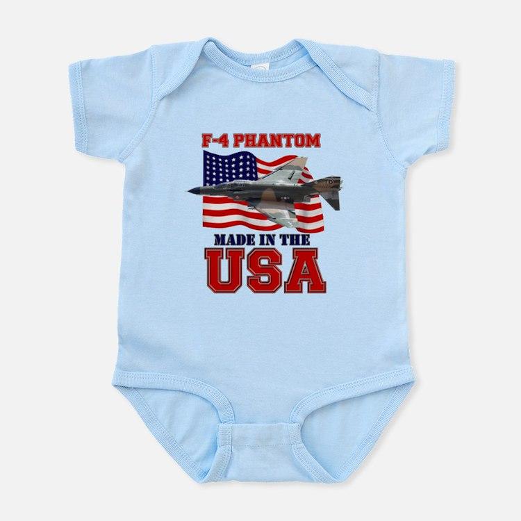 F-4 Phantom Infant Bodysuit