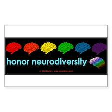 neurodiversity  bumpersticker Bumper Stickers
