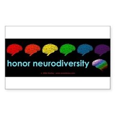 neurodiversity  bumpersticker Decal