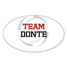 Donte Oval Decal