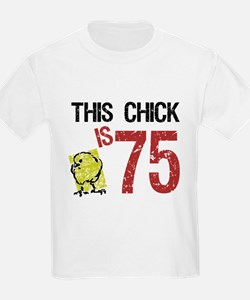 Women's Funny 75th Birthday T-Shirt