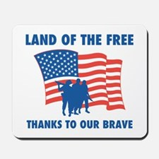 Thanks To Our Brave Mousepad