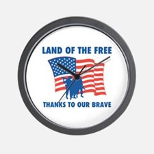 Thanks To Our Brave Wall Clock