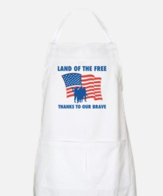 Thanks To Our Brave BBQ Apron