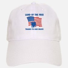 Thanks To Our Brave Baseball Baseball Cap