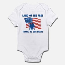 Thanks To Our Brave Infant Bodysuit
