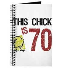 Cute Humor chick Journal