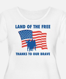Thanks To Our Brave T-Shirt