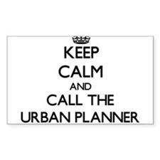 Keep calm and call the Urban Planner Decal