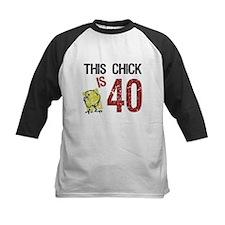Women's Funny 40th Birthday Baseball Jersey