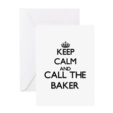 Keep calm and call the Baker Greeting Cards