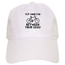 Bike between your legs Baseball Cap