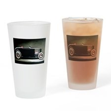 Unique Drag racing Drinking Glass