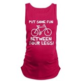 Cool cycling Dark Maternity Tank Top