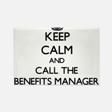 Keep calm and call the Benefits Manager Magnets