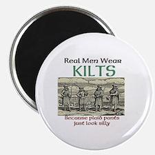 Real Men Wear Kilts Magnet