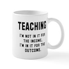Teaching income outcome Mug