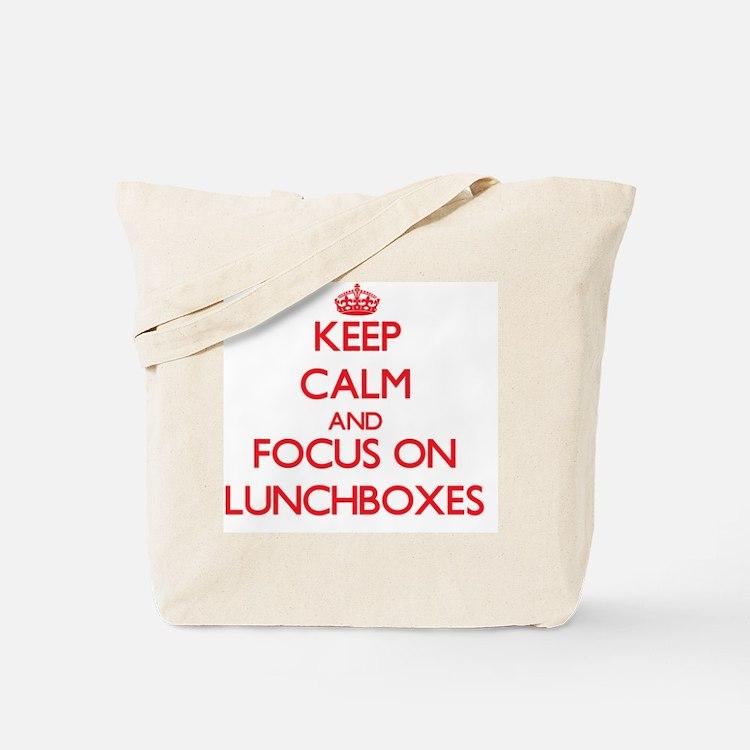 Cute Lunchbox Tote Bag