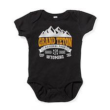 Grand Teton Vintage Baby Bodysuit