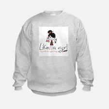 Science Like A Girl! Sweatshirt