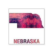 NEBRASKA MAP Sticker