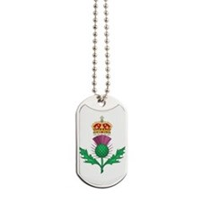 Thistle Royal Badge of Scotland Dog Tags