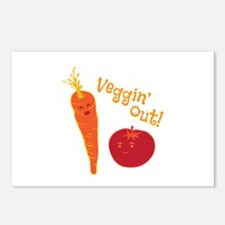 Veggin Out Postcards (Package of 8)