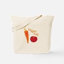 Veggin Out Tote Bag