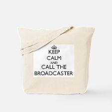 Unique Television broadcasting Tote Bag