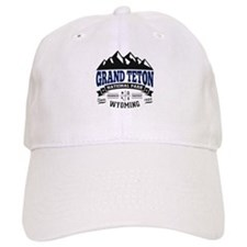 Grand Teton Vintage Baseball Cap