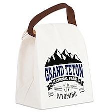 Grand Teton Vintage Canvas Lunch Bag