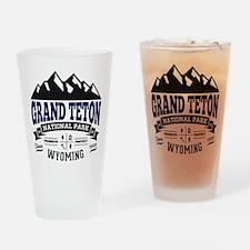 Grand Teton Vintage Drinking Glass